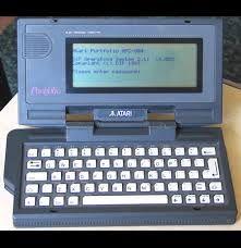 Atari Palmtop Computer.