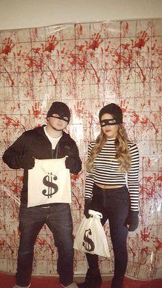 Bandit  Burglar  Couple Halloween Costume  by SarahsBootique                                                                                                                                                                                 More