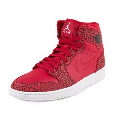 finest selection b21fc 022a8 Nike Jordan Mens Air Jordan 1 Retro High Basketball Shoe Gym Red White Team  Red White (11.5, GYM RED WHITE-TEAM RED-WHITE)