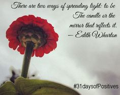 31 days of Positive Posting - Will you join me? #31daysofpositives
