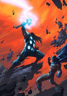 Thor vs Magneto