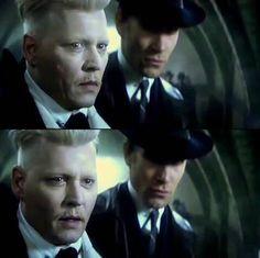 Jonnhy Depp shows up, my day is now complete! Harry Potter Prequel, Harry Potter Universal, Harry Potter World, Johnny Depp Characters, Johnny Depp Movies, New Movies, Good Movies, Johnny Depp Pictures, Gellert Grindelwald