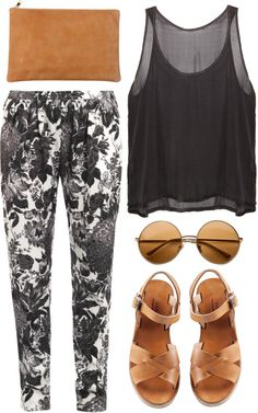 """brown sugar"" by rosiee22 ❤ liked on Polyvore"