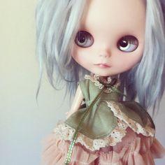 REDUCED  OOAK custom Blythe doll by Sharon door SharonAvitalDolls