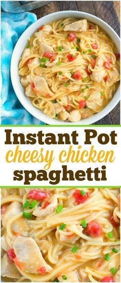 This pressure cooker cheesy chicken spaghetti was a real hit for dinner tonight!… This pressure cooker cheesy chicken spaghetti was a real hit for dinner tonight! If you love easy Instant Pot recipes this is one you'll want to make. Cheesy Chicken Recipes, Instapot Recipes Chicken, Chicken Spaghetti Recipes, Chicken Ideas, Pressure Cooker Chicken, Instant Pot Pressure Cooker, Pressure Cooker Recipes, Chicken Cooker, Pressure Cooking
