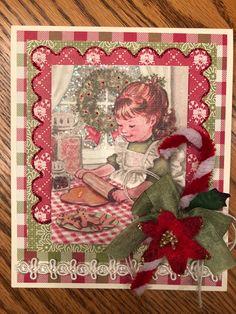 Authentique vintage Christmas card