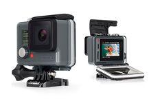GOPRO HERO + LCD VIDEOCAMERA ACTION CAMERA 8 MP TOTALI DISPLAY TOUCH WIFI BLUETOOTH BATT LION 1160 mAh immagini