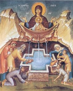Theotokos of the Life-Giving Spring