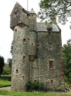 Wester Kames castle - Port Bannatyne. here on the island where I live. .