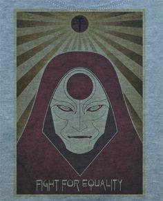 Custom Fanmade Legend of Korra Avatar Cosplay Shirt T-Shirt Tee
