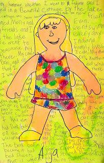 Back to School Self-Portrait Art Project for Kids | Ziggity Zoom