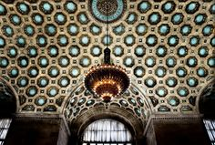 Historic Canadian Imperial Bank of Commerce Building Interior, Toronto, Ontario Chandelier For Sale, Modern Chandelier, Chandelier Ideas, Chandeliers, Toronto Architecture, Interior Architecture, French Crafts, Toronto Photos, Gold Interior