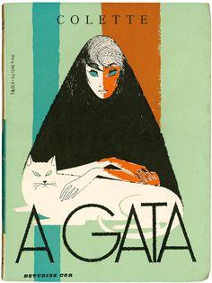 A Gata, Colette, Estúdios Cor, design Paulo-Guilherme, 1959