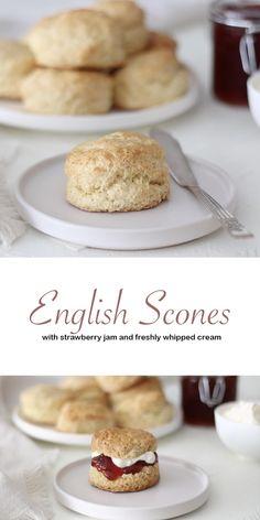 Tea Recipes, Sweet Recipes, Baking Recipes, Dessert Recipes, Scone Recipes, Sweet Scones Recipe, Perfect Scones Recipe, Best Scone Recipe, Cheesecake Recipes