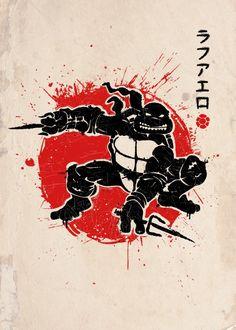 Pulp Fiction Bebop /& Rocksteady Hommes T-ShirtTurtles Splinter TMNT Fun