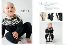 Bilderesultat for dale retro babyull strikkepakke