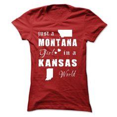 MONTANA GIRLS IN KANSAS WORLD T-Shirts, Hoodies (19.99$ ==►► Shopping Here!)