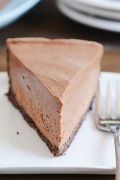 No-Bake Creamy Chocolate Cheesecake - WomansDay.com