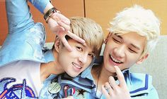 Ken and Hyuk from Vixx