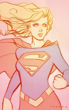 Supergirl by marciotakara.deviantart.com on @deviantART