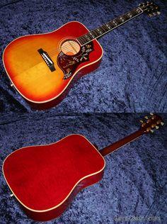 1963 Gibson Hummingbird, Very Rare Maple Body