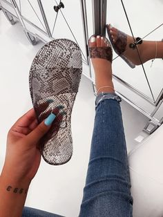 Shop Official Bee: The Latest Shoe Trends Bling Sandals, Chanel Sandals, Cute Sandals, Cute Shoes, Me Too Shoes, Shoes Sandals, Sock Shoes, Shoe Boots, Cute Slippers