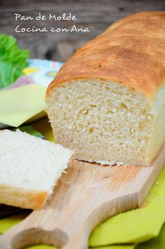 Pan de molde con thermomix y tradicional - Paperblog Pan Dulce, Pan Bread, Empanadas, Sin Gluten, Cornbread, Brunch, Food And Drink, Cooking Recipes, Ethnic Recipes