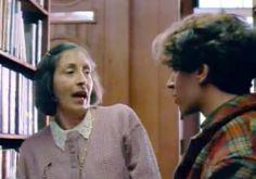 Stanley's Dragon (1994, UK). Valerie Minifie is a librarian. http://serialsonline.net/clip/139291.html  http://www.imdb.com/title/tt0130282/