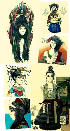 As ilustrações de Camila do Rosário