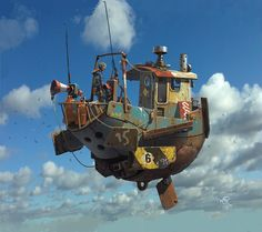 The Art of Ian McQue - Daily Art, THU Festival