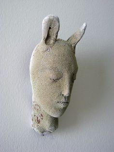 tiny head 2 by clayrew on Etsy