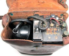 WW2 WWII U.S. Army Field Telephone Military Vintage Collectible