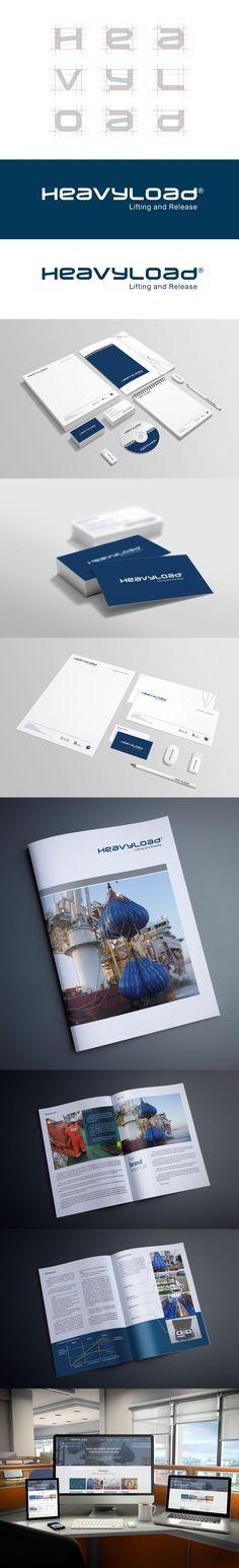 Criação do logotipo e construção da identidade visual para a Heavyload, empresa atuante na cadeia produtiva de óleo e gás de Macaé e região. Acessem: www.heavyload.com.br