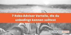 #Geldanlage #Börse #Investment #RoboAdvisor #FinTech