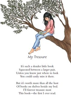 Poem of the Week – My Treasure Book Week, Little Books, Poems, This Book, Decorating, Fictional Characters, Inspiration, Decor, Biblical Inspiration