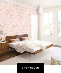 WALLPAPER : MOVEMENTS©️️️️️️️️️️️️️️ // BLUSH - drop it MODERN - Modern and contemporary interior designed wallpaper for the studio and home.   #wallpaper #InteriorDesign #HomeDecor #bedroom #bathroom #kitchen #LivingRoom #designer #luxury #traditional #FarmHouse #MidCenturyModern