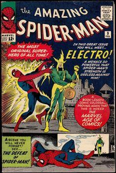 Amazing Spider-Man # 9 , February 1964 , Marvel Comics Vol 1 1963 tumblr_nj3qphVT6J1rn55nzo1_540.jpg (540×805)