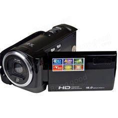 16 Mp Max HD Digital Zoom Digital Video Camera Digital Camcorder with Samsung Accessories, Cmos Sensor, Photography Camera, Dashcam, Video Camera, Camcorder, Sd Card, Hd Video, Digital Camera