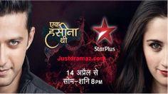 Ek Haseena Thi 17th April 2014 - Star Plus Ek Haseena Thi 17 April 2014 - Star Plus Channel watch latest episode 17/4/2014 with Justdramaz.com online free.