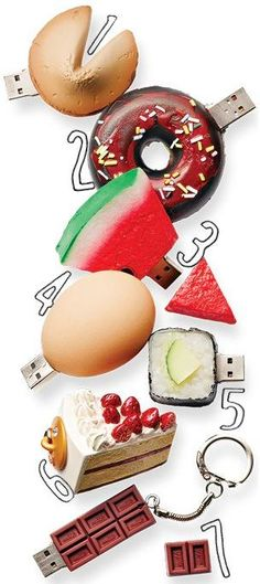 Cool Foodie USB Drives | Can you guess which one is a fake?