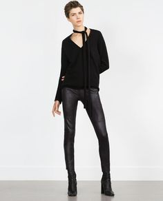 ZARA - WOMAN - SKINNY TROUSERS