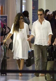 Camila Alves McConaughey's pregnancy in PHOTOS