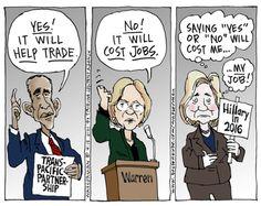 SPEACHLESS?   Apr/29/15 Cartoon by Dan Wasserman  - US News