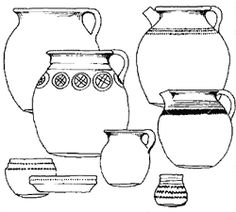 * Drawing of Winchester ware