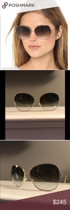 """Isabel Marant for Oliver people's """"Daria"""" Isabel Marant for Oliver people's """"Daria"""" sunglasses great condition gradient lens Isabel Marant Accessories Sunglasses"""