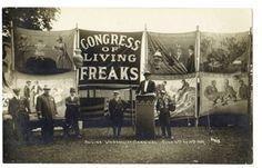 Congress of Living Freaks-early 1900's