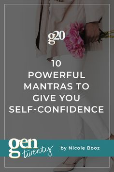10 Powerful Mantras To Give You Self-Confidence - GenTwenty Confidence Quotes, Self Confidence, Self Development, Personal Development, Negative Self Talk, Pep Talks, Confidence Building, Subconscious Mind, Positive Thoughts