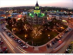 "DENTON, TX -- While still tied to the arts scene in Dallas, Denton has birthed its own relaxed culture of coffee houses, cowboy bars, and a literary world wholly different from any of its Lone Star neighbors.  It's little wonder that Denton often shows its face on the list of America's ""best small cities"" and ""100 Best Places to Live,"" and continues to attract writers and other artists from around the country."