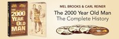 Mel Brooks and Carl Reiner: The 2000 Year Old Man, The Complete History Carl Reiner, Old Men, Comedy, History, Historia, Comedy Theater, Senior Guys, Comedy Movies