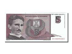 5 dinar note